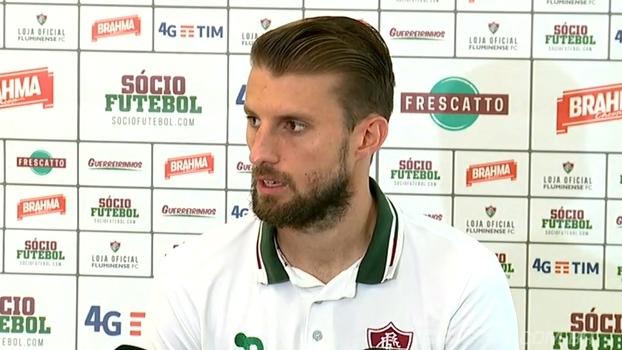 Henrique afirma que objetivo do Fluminense é o título e crê que o time está no caminho certo