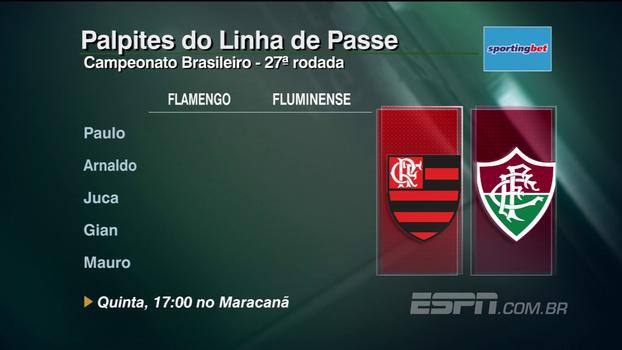 Fla-Flu, Atlético-MG x São Paulo e muito mais: Comentaristas do Linha palpitam sobre 27ª rodada do Brasileirão
