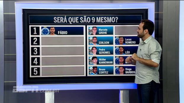 Após Mano citar comparação individual, Bate Bola escolhe os melhores entre Cruzeiro e Grêmio