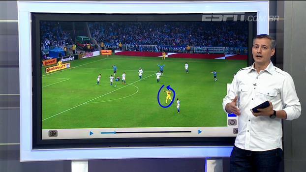 Sálvio analisa o lance e diz que árbitro de Grêmio x Cruzeiro acertou ao voltar atrás no pênalti em Luan