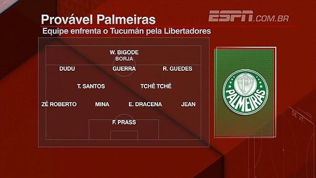 William ou Borja? BB Debate analisa provável time titular do Palmeiras contra o Tucumán