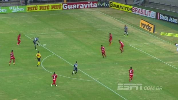 Veja os gols da vitória do Ceará sobre o Vila Nova por 2 a 0 pela Série B!