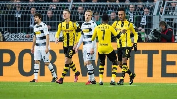 Bundesliga: Gols de Borussia Dortmund 4 x 1 Borussia Mönchengladbach