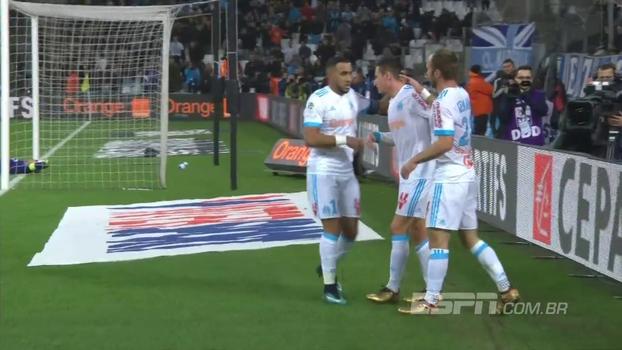 Assista aos gols da vitória do Olympique de Marselha sobre o Saint-Etienne por 3 a 0!