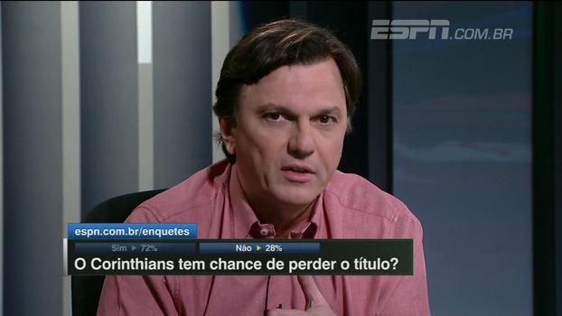 Mauro cita número de finalizações e 'defesas malucas' de goleiro ao comentar derrota corintiana: 'A vantagem ainda é grande'
