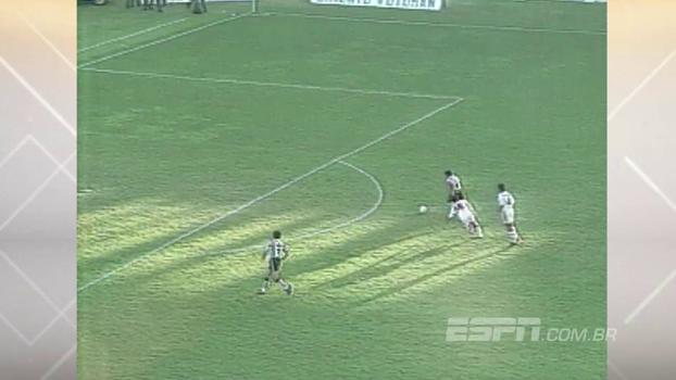 Juninho e Bigode marcaram para o Vasco, mas 'Super' Ézio decretou a vitória do Atlético-MG em 1995