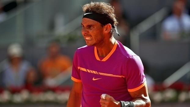 Masters 1000 de Madri: Lances de Rafael Nadal 2 x 1 Fabio Fognini