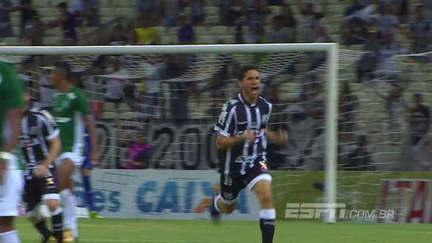 Confira os gols de Ceará 2 x 2 Guarani