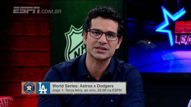 Para Paulo Antunes, Dodgers estão com pinta de campeões: 'Beisebol é momento'