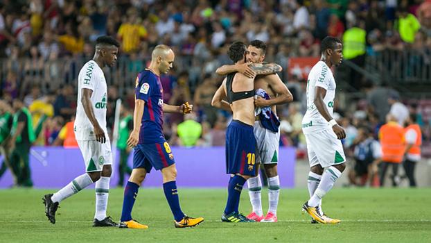 Troféu Joan Gamper: Gols de Barcelona 5 x 0 Chapecoense