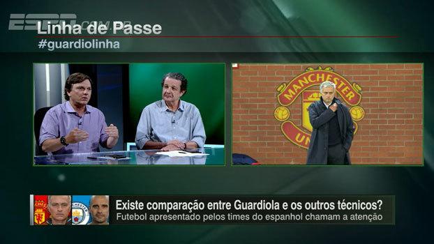 Mauro vê Mourinho fazendo 'muito pouco' com o elenco do United: 'Ele não consegue competir com o Guardiola'