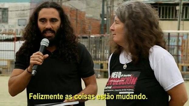 Sorin visita projeto de futebol feminino na Argentina