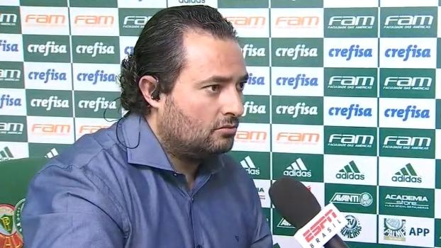 Alexandre Mattos sobre Pratto: 'O Palmeiras não negociou com o jogador'