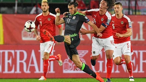 Veja os gols do empate entre Áustria e País de Gales por 2 a 2 pelas Eliminatórias Europeias