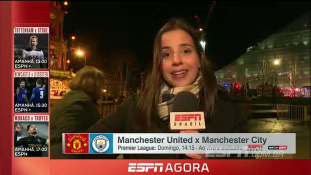 Dúvidas, retornos e destaques: com Natalie Gedra, veja informações sobre o dérbi de Manchester