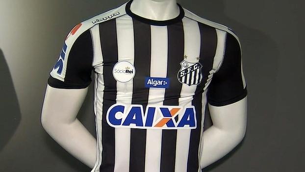 6af5d48956b31 Santos lança segundo uniforme e fará estreia em clássico