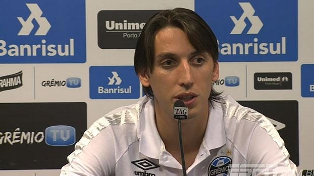 Geromel destaca foco do time e projeta jogo pela Libertadores: 'Somos favoritos'