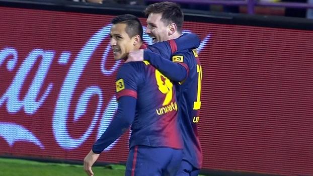Espanhol: Melhores momentos de Valladolid 1 x 3 Barcelona