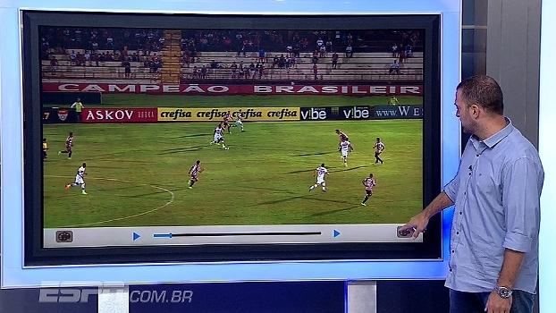 Zé Elias analisa posicionamento e erros de marcação do São Paulo contra o Botafogo-SP