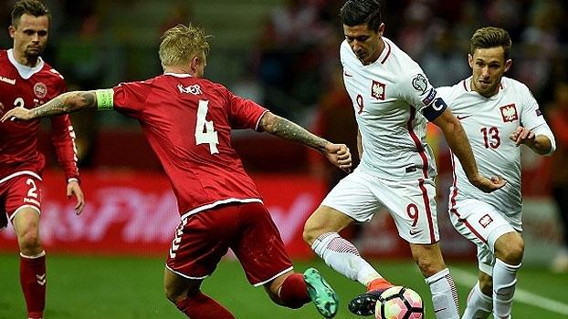 Eliminatórias Europeias: Gols de Polônia 3 x 2 Dinamarca