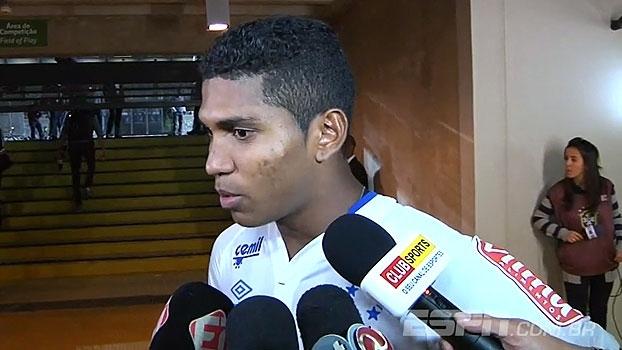 Raniel comemora gol pelo Cruzeiro e revela surpresa em escalação: 'Eu não esperava'