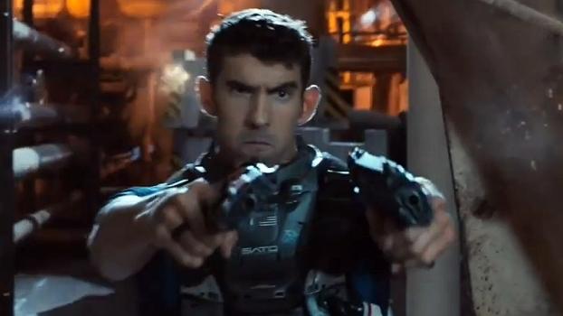 Michael Phelps participa de comercial de game de guerra