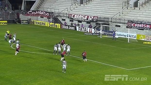 Assista aos gols da vitória do Brasil de Pelotas sobre o Ceará por 2 a 1!
