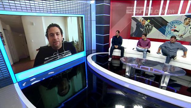 Léo Gomide fala na expectativa para possível mudança no comando do Atlético-MG