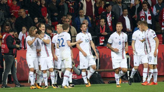 Assista aos gols de Turquia 0 x 3 Islândia
