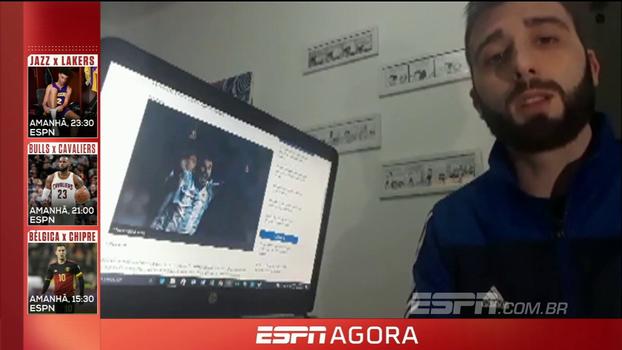 Blogueiro do Boca Juniors no ESPN FC defende titularidade de Benedetto na Argentina na partida decisiva contra o Equador