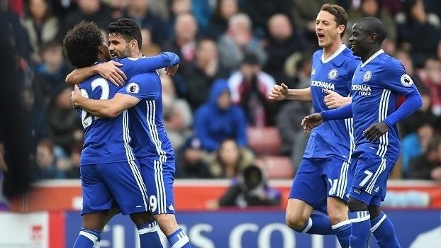 Premier League: Gols de Stoke 1 x 2 Chelsea