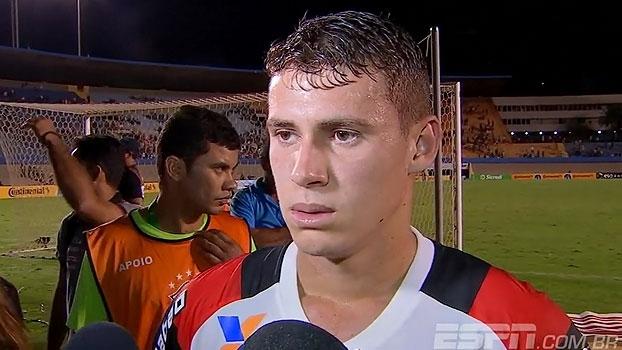 Rodinei fala em alívio pela classificação; Matheus Sávio comemora gol importante e afirma emoção