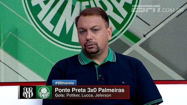 Alê destaca 'vitória incontestável' da Ponte: 'Palmeiras não estava 100% focado'