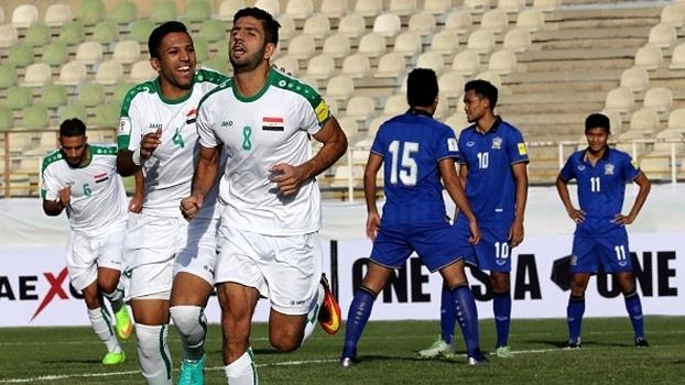 Com quatro gols de Abdul-Raheem, Iraque vence 1ª no grupo B das Eliminatórias Asiáticas