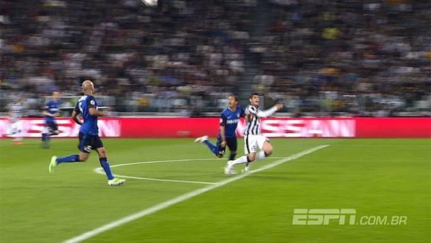 Foi pênalti? Comentaristas divergem sobre lance que deu vitória para a Juve