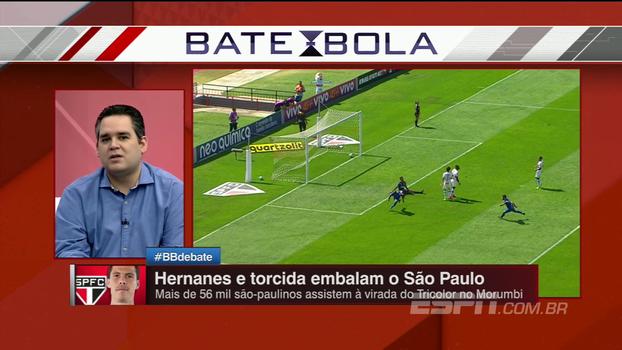 Após vitória, Bertozzi diz que futebol do São Paulo ainda não melhorou