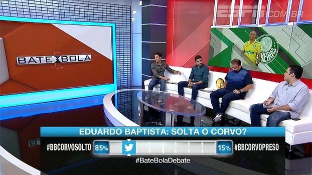Pressionado? Bate Bola comenta cobrança em cima de Eduardo Baptista no Palmeiras