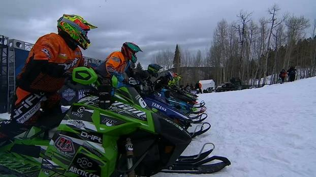 A final do Snowmobile Hillcross nos X Games Aspen 2015
