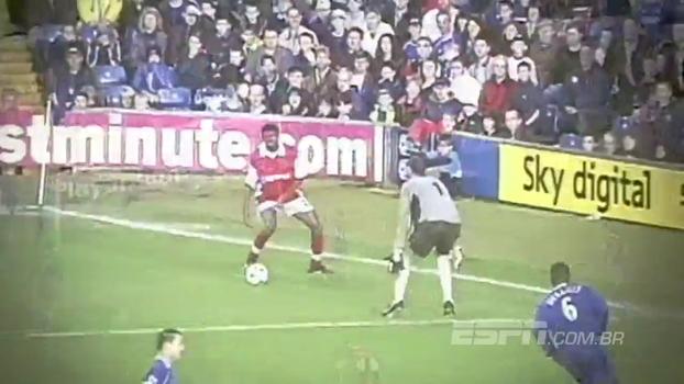 Paulada de Alex, mágica de Kanu e mais: veja o 'Top 5' de gols em Arsenal e Chelsea pela Premier League
