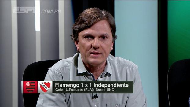 Rueda, Diego, gestão desastrosa e fragilidade internacional; Mauro analisa queda do Fla diante do Independiente