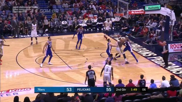 Pelicans batem Sixers em casa; Oladipo anota recorde de pontos da carreira e Pacers vencem Nuggets