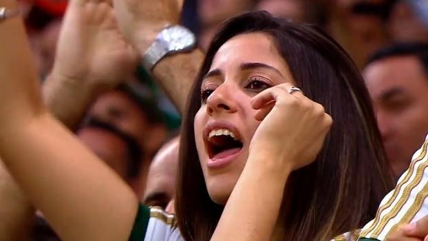 Palmeiras se apega à campanha #AtéoApitoFinal