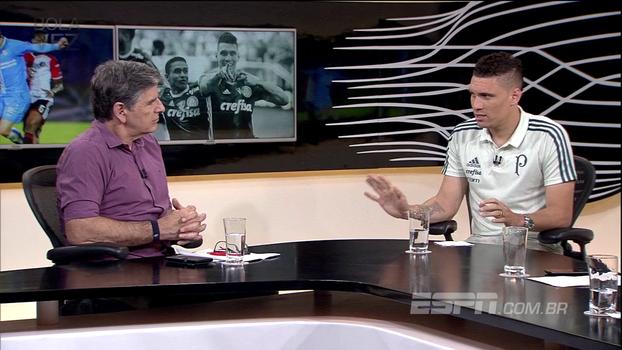Moisés garante que Palmeiras vai 'incomodar' o Corinthians e pede no mínimo 95% de aproveitamento: 'Todo jogo é para matar!'