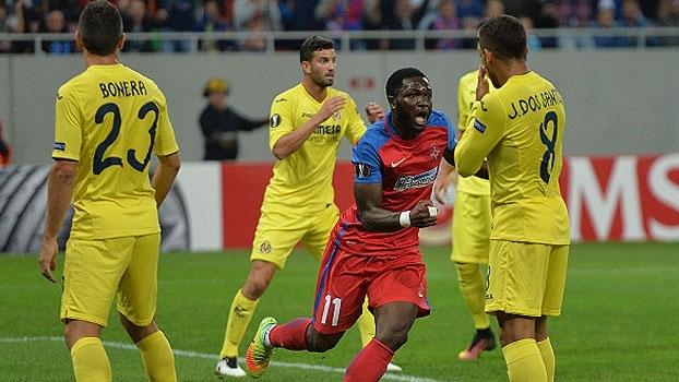 Com Pato em campo, Villarreal fica no empate com o Steaua