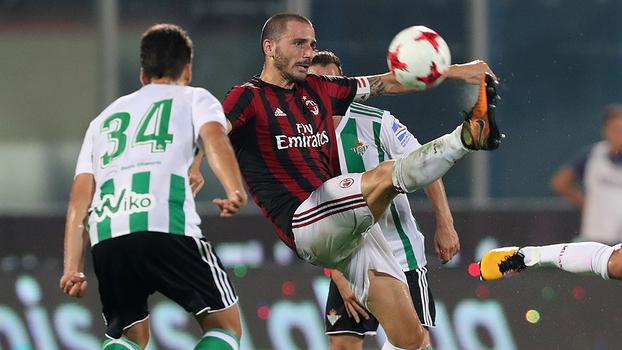 Amistoso internacional: Gols de Milan 1 x 2 Real Bétis