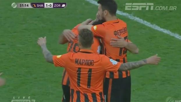 Comemore, torcedor! Com gol brasileiro, Shakhtar Donetsk vence e é campeão ucraniano