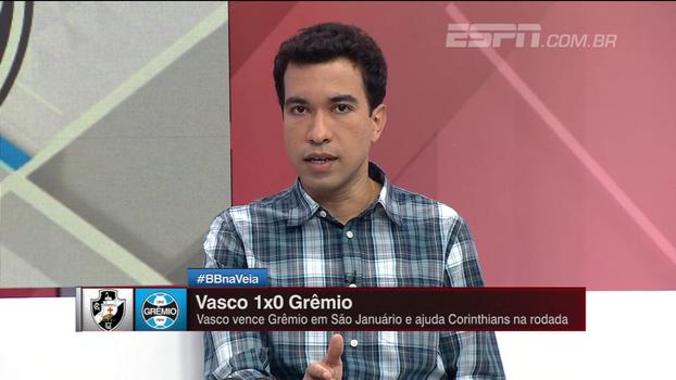 'Jogo contra Vasco pode ser visto tranquilamente como acidente de percurso', diz Breiller sobre Grêmio