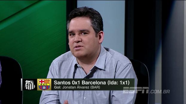 Bertozzi: 'Era muita falta de cérebro para um time só, e o Santos acabou pagando caro'