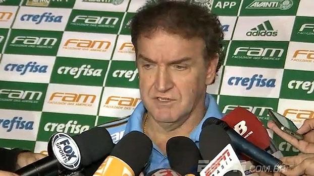 Cuca cita ausências, vê Palmeiras 'no caminho certo' e fala sobre pontos perdidos: 'Temos tempo para recuperar'