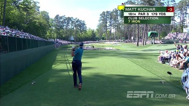 Tacada perfeita! No torneio Masters de Golfe, Matt Kuchar acerta o buraco em apenas uma jogada